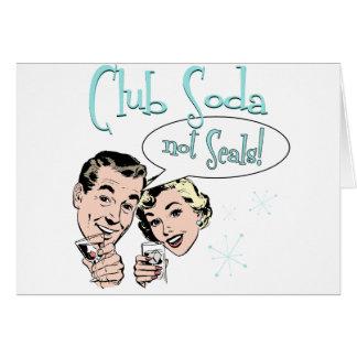 Club Soda Card