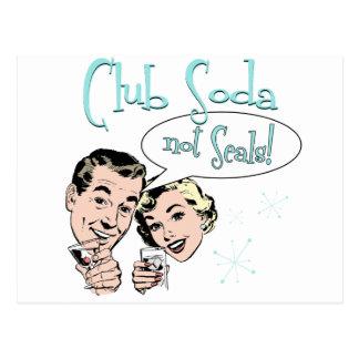 Club Soda Postcard