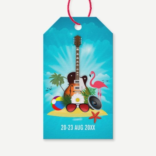 Club Summer Music Festival add logo Gift Tags