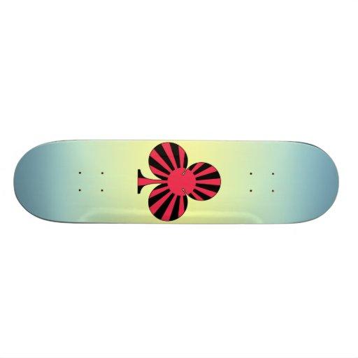 club sun rising カスタムスケートボード