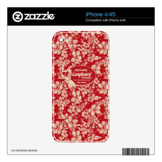 Club Surfing Hawaiian iPhone Skins Skins For The iPhone 4S