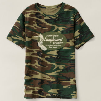 Club Surfing Hawaiian Logo Camo T-shirt