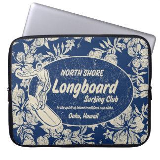 Club Surfing Hawaiian Neoprene Wetsuit Laptop Sleeve