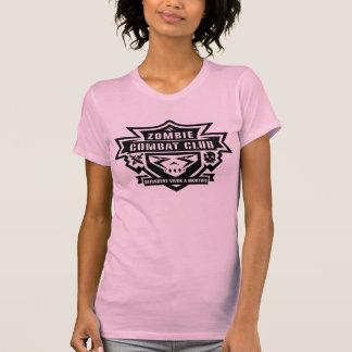 Club T del combate de las mujeres Camisetas