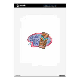 CLUB TIKI DECAL FOR THE iPad 2