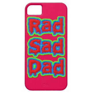 Club triste del papá del Rad iPhone 5 Carcasas