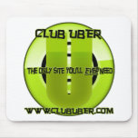 Club Uber Mousepad Alfombrillas De Ratón