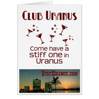 Club Uranus Card