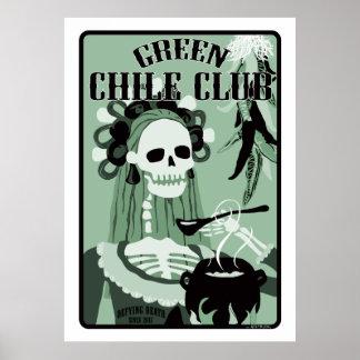 club verde del chile póster