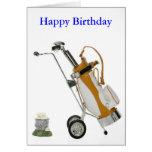 club y bolas, feliz cumpleaños felicitacion