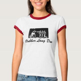 clubber lang duo ladies T T-Shirt