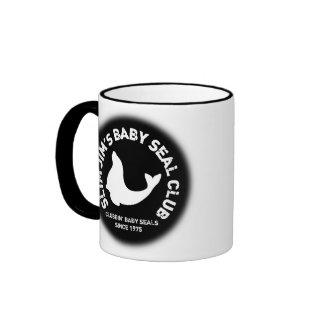 Clubbing Baby Seals Ringer Mug