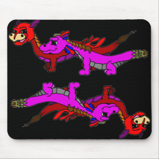 Clubby and Korey Mouse Pad