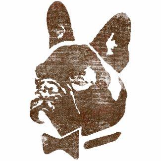 CLUBCHIEN Vintage Logo Chocolate shirt