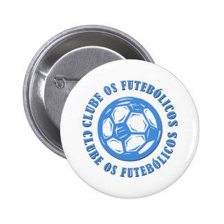 Clube os Futebolicos 2 Inch Round Button