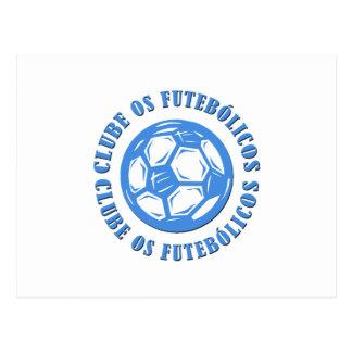 Clube os Futebolicos Post Card
