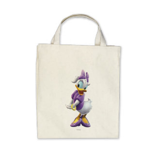 Clubhouse Daisy Duck Canvas Bags