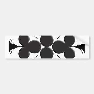 Clubs Bumper Sticker