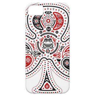 Clubs - caso del iPhone 5/5S (blanco/rojo/negro) iPhone 5 Fundas