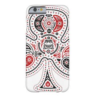 Clubs - caso del iPhone 6 blanco rojo negro