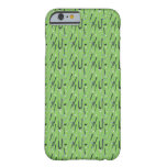 Clubs de golf funda para iPhone 6 barely there
