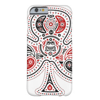 Clubs - iPhone 6 case White Red Black