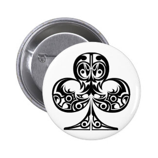 clubs pinback button