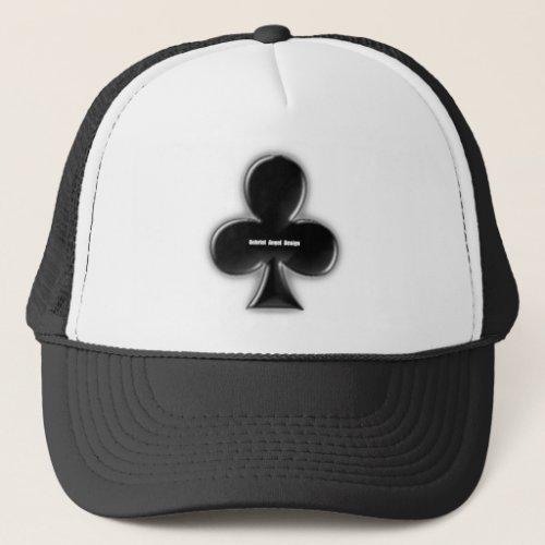 Clubs Suit Trucker Hat