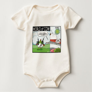 Cluck Norris, A Sauna and I WILL FIND YOU! Baby Bodysuit