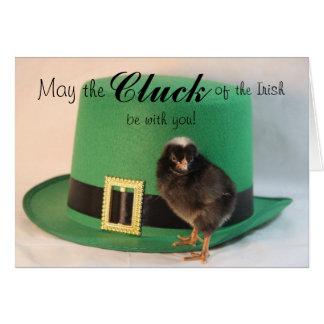 Cluck of the Irish Card