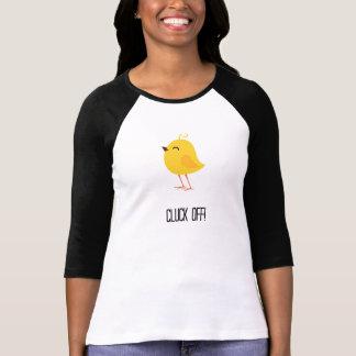 Cluck off! tee shirt