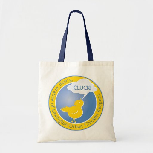 Cluck Tote Bag