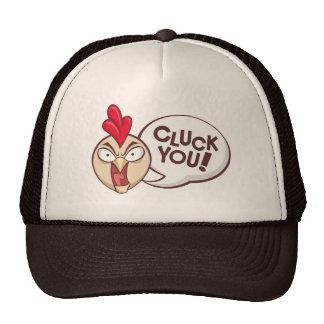 Cluck you! trucker hat