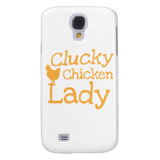 Clucky chicken lady galaxy s4 case