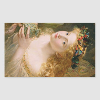 Cludia by Sophie Anderson Rectangular Sticker