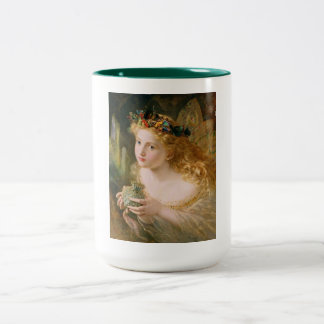 Cludia by Sophie Anderson Two-Tone Coffee Mug
