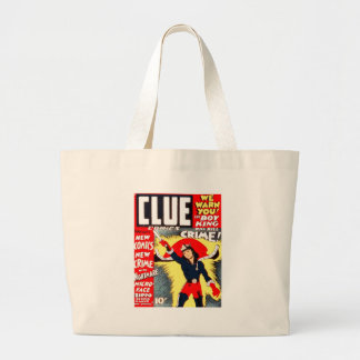 Clue Boy Large Tote Bag