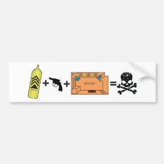 Clue Equation Bumper Sticker