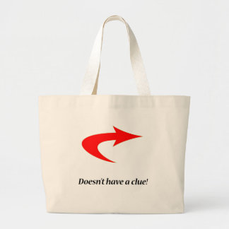 Clueless Large Tote Bag