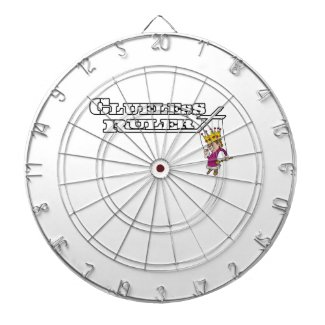 Clueless Ruler Official Band Dartboard! Dartboard