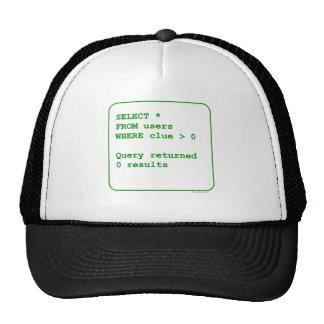 Clueless Users Trucker Hat