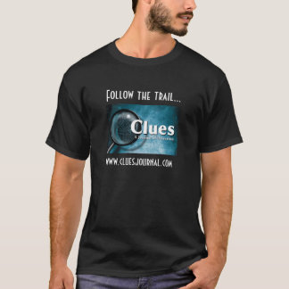 Clues Journal Adult T-Shirt--Dark color T-Shirt