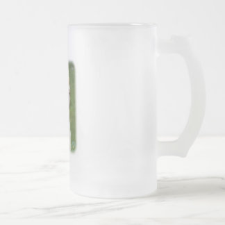 Clumber Spaniel 9Y003D-101 Frosted Glass Beer Mug