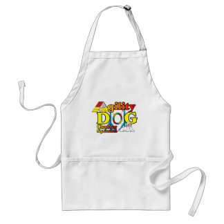 Clumber Spaniel Agility Gifts Adult Apron