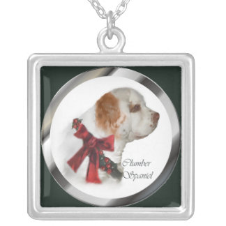 Clumber Spaniel Christmas Gifts Custom Jewelry