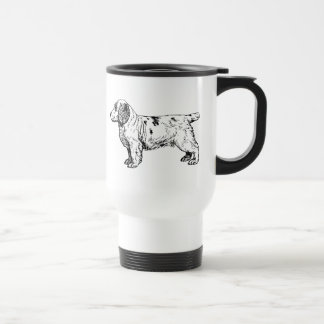 Clumber Spaniel Dog Business Travel Mug