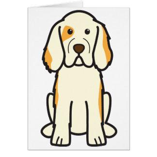 Clumber Spaniel Dog Cartoon Cards