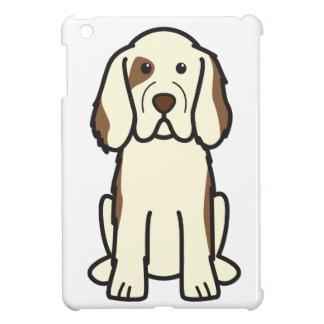 Clumber Spaniel Dog Cartoon iPad Mini Case