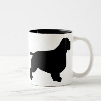 Clumber Spaniel Gear Two-Tone Coffee Mug