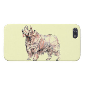 Clumber Spaniel iPhone Case Covers For iPhone 5